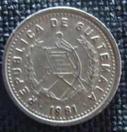 Imaginea #2 a 5 Centavos 1981