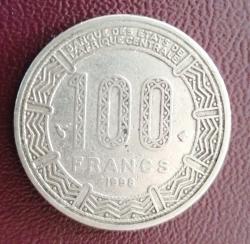 100 Francs 1998