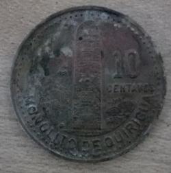 Image #1 of 10 Centavos 1988