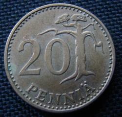 Image #1 of 20 Pennia 1976