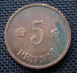 Image #1 of 5 Pennia 1938