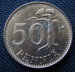 50 Pennia 1989