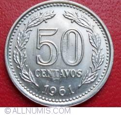 Image #1 of 50 Centavos 1961