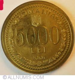 Imaginea #1 a [PROBA]  5000 Lei 2001