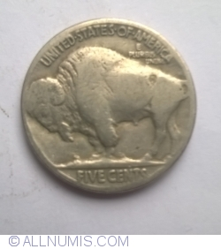 Image #2 of Buffalo Nickel 1928