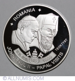 Imaginea #1 a 5 Kwacha 2009 - John Paul II - Papal Visits Romania