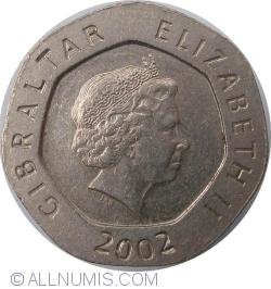 Imaginea #2 a 20 Pence 2002