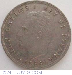 Image #2 of 25 Pesetas 1984