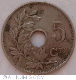 Image #1 of 5 Centimes 1922 (Belgique)