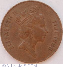 Image #2 of 2 Cents 1986