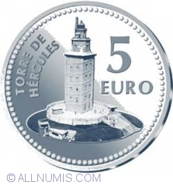 Image #1 of 5 Euro 2011 - La Coruña (Hercules Tower)