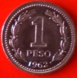 Image #1 of 1 Peso 1962