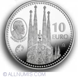 Image #1 of 10 Euro 2010 - Antoni Gaudi