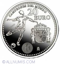 Image #1 of 20 Euro -spania Campioana Mondiala La Fotbal 2010