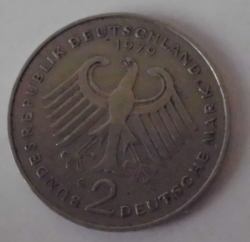 2 Mark 1979 G - Theodor Heuss