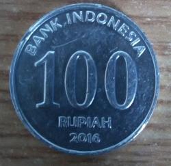 Image #1 of 100 Rupiah 2016
