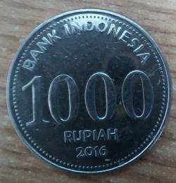 Image #1 of 1000 Rupiah 2016