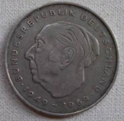 Image #2 of 2 Mark 1972 J - Theodor Heuss