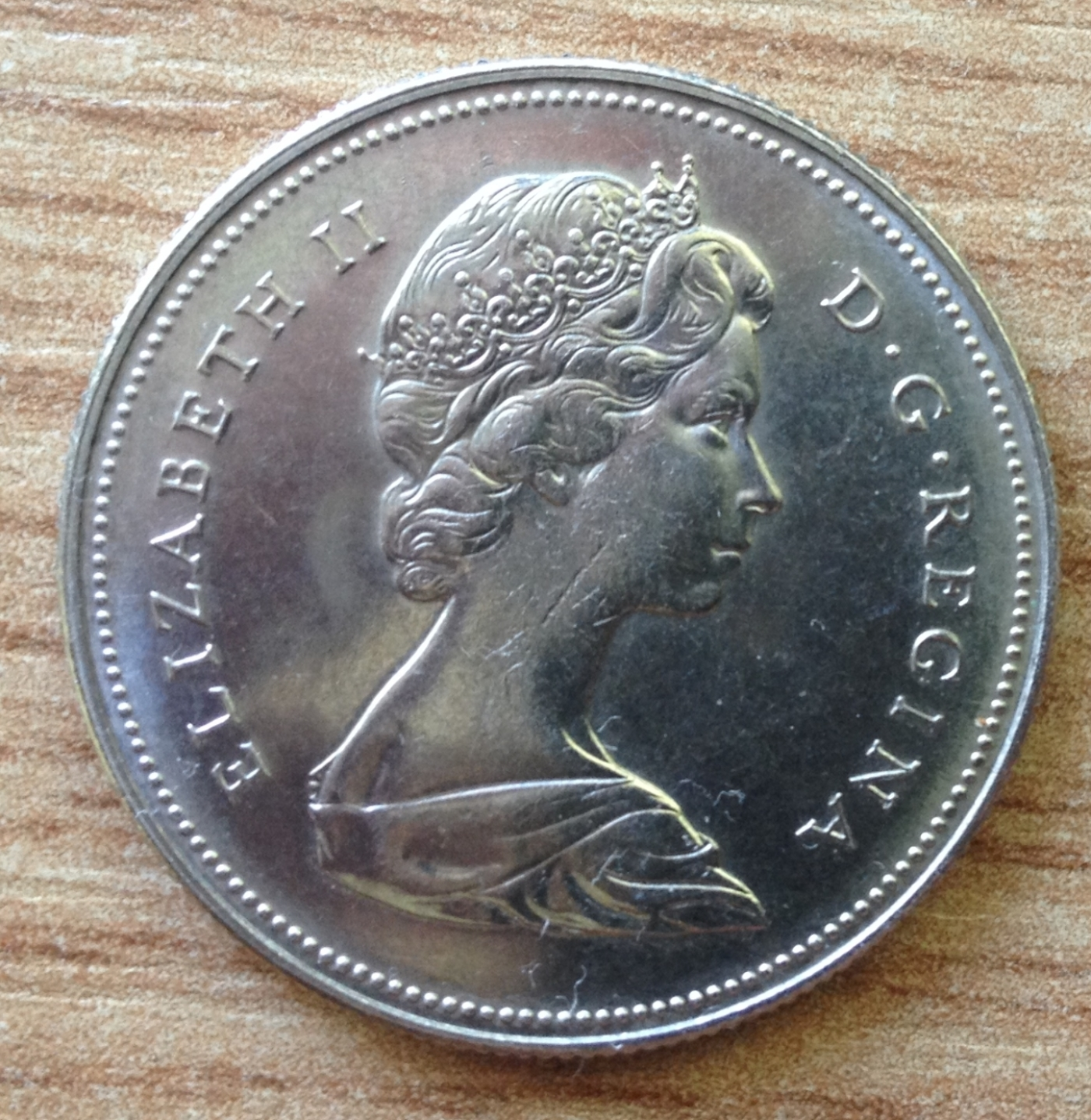 1973 CANADA 50 CENTS PROOF-LIKE COIN