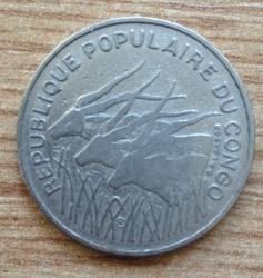 100 Francs 1971