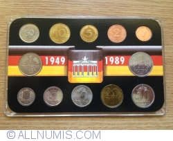 Image #1 of Mint Set 1989 Unification Set (Private issue)