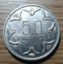 Image #1 of 50 Francs 1976 D - Gabon