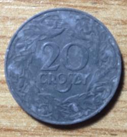 Imaginea #1 a 20 Groszy 1923 - Zinc
