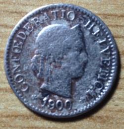 Image #2 of 5 Rappen 1900