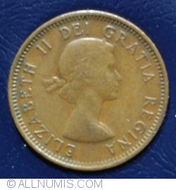 Image #1 of 1 Cent 1953 (shoulder strap)