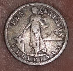 Imaginea #1 a 10 Centavos 1918