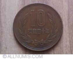 Image #1 of 10 Yen 1965 (40)