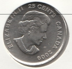Image #1 of 25 Cents 2009 - Cindy Klassen