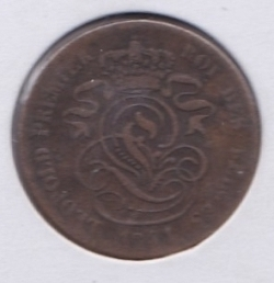 Imaginea #2 a 2 Centimes 1841