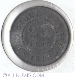 Image #1 of 25 Centimes 1915