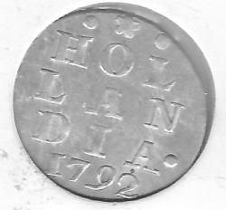 Image #1 of 2 Stuivers 1792