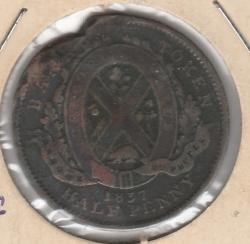 Image #1 of Half Penny 1837 - Bank Token - Banque du Peuple