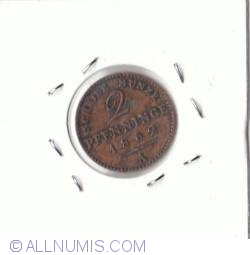 Image #2 of 2 Pfennig 1862A