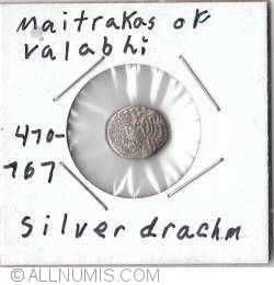 Image #1 of Silver Drachm ND (470-767)