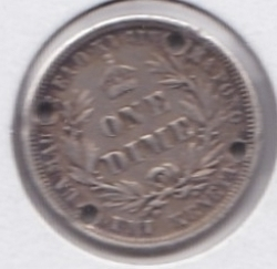 Image #2 of 1 Dime 1883