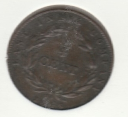 Image #2 of 1/4 Cent 1845