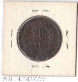Imaginea #1 a 20 Heller 1916