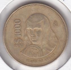 Image #2 of 1000 Pesos 1992