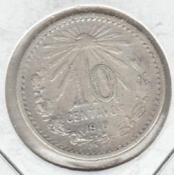 Image #1 of 10 Centavos 1910