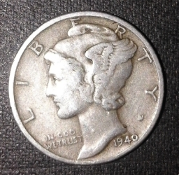Image #1 of Dime 1940