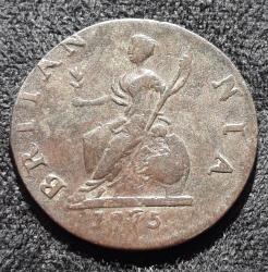 Imaginea #2 a Farthing 1775