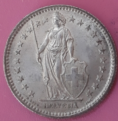 Imaginea #1 a 2 Francs 1958