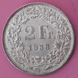 Image #2 of 2 Francs 1958