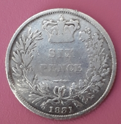 Imaginea #2 a Sixpence 1831