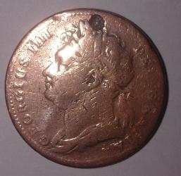 Image #1 of Farthing 1825