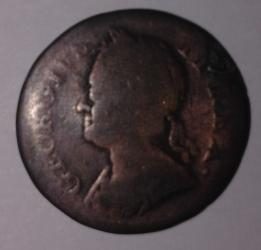 Image #2 of Farthing 1749